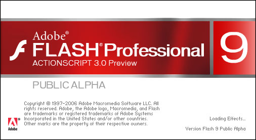Flash Professional 9 ActionScript 3.0 Preview